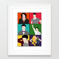 hedwig Framed Art Prints featuring From Harry To Hedwig by byebyesally