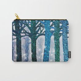 The forest of fireflies Carry-All Pouch