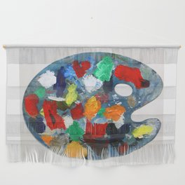 The Artist's Palette Wall Hanging