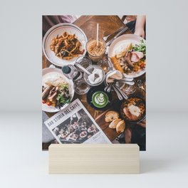 Beautiful Food by Shawn Ang Mini Art Print