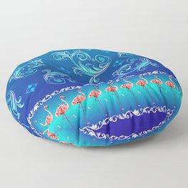 flamingo Floor Pillow