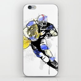 French Horn Football iPhone Skin