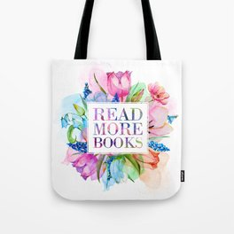 Read More Books Pastel Tote Bag