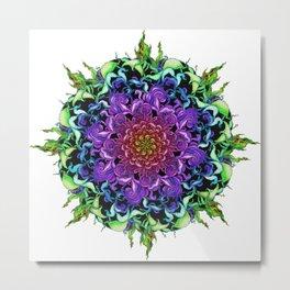 Mimicry Mandala Metal Print