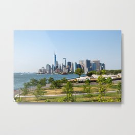 Lower Manhattan Skyline view from Governors Island 2018 Metal Print