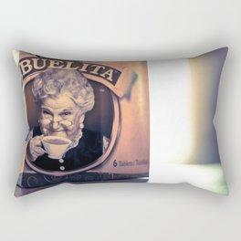 Cafe con Abuelita Rectangular Pillow