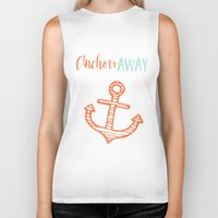 anchor Biker Tanks featuring Anchor by Zen and Chic