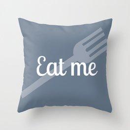 Alice in Wonderland- Eat Me Throw Pillow