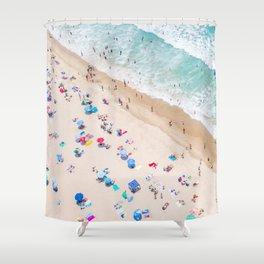 Colors of Manhattan Beach California Shower Curtain