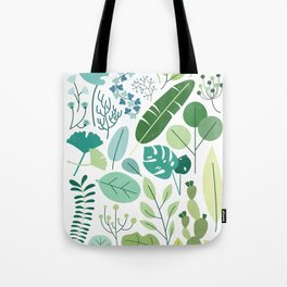 Botanical Chart Tote Bag