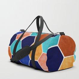 Painted Terra Cotta Duffle Bag
