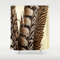 into the wild Shower Curtains featuring Wild by Charlene McCoy