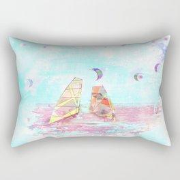 #Surfen on #Baltic #sea #digital #art #for your #home #design Rectangular Pillow
