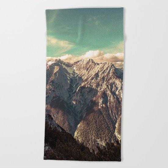 Alpine Magic Beach Towel