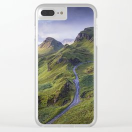 The Road to the Quiraing Clear iPhone Case