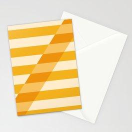 Striped Shadow 2 Stationery Cards