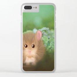 Little Worried Walter Clear iPhone Case