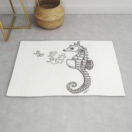 Sea horse Rug
