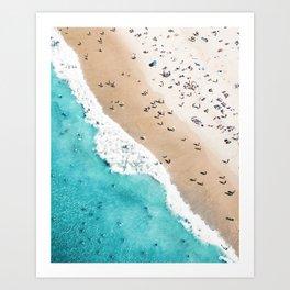 Beach Mood 2 Art Print