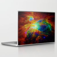nebula Laptop & iPad Skins featuring Orion NEBula  : Colorful Galaxy by 2sweet4words Designs