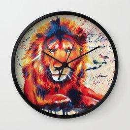 Quiet Ferocity Wall Clock