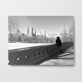 New York Strangers Metal Print