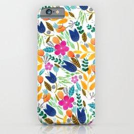 Flower Mayhem iPhone Case
