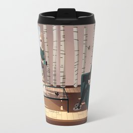 An afternoon with Death Travel Mug