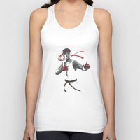street fighter Tank Tops featuring Ryu Street Fighter by Papan Seniman