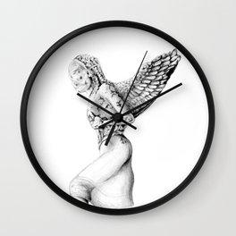 Greek Medusa Statue Wall Clock