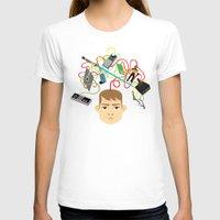 nerd T-shirts featuring Nerd by Mouki K. Butt