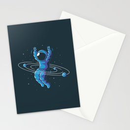 Space Hula Hoop Stationery Cards