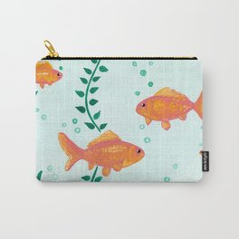 Goldfish Watecolor Carry-All Pouch