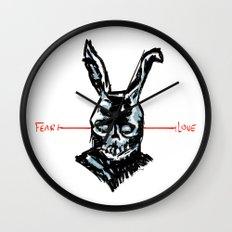 Donnie Darko: FEAR • FRANK • LOVE Wall Clock