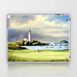 Turnberry Golf Course Scotland 10th Green Laptop & iPad Skin