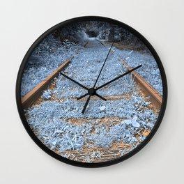 Railway to Blissful Oblivion Wall Clock