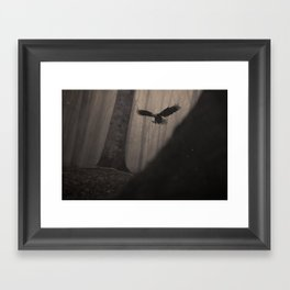 Magic Eagle Framed Art Print
