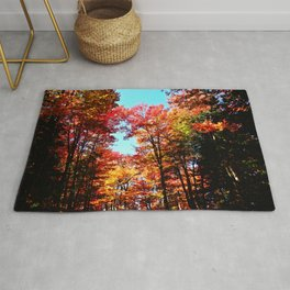 Fall Forest Delight Rug