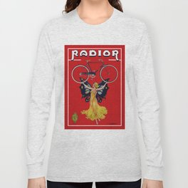 Vintage Radior Bicycle Ad Long Sleeve T-shirt