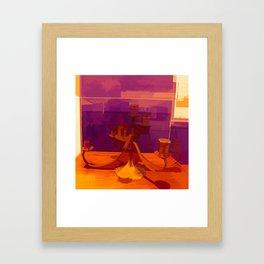 Menorahs 2 Framed Art Print