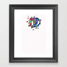 D Delta Framed Art Print