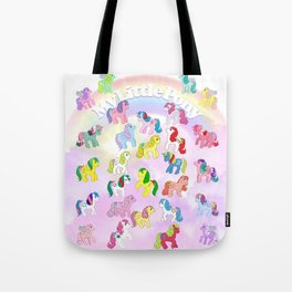 g1 my little pony year 4 So Soft, Twinkle Eye, Flutter Tote Bag