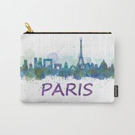 Paris City Skyline HQ Carry-All Pouch