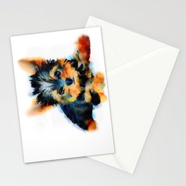 Yorki Pup Stationery Cards