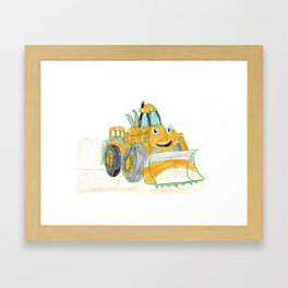 Ace Framed Art Print