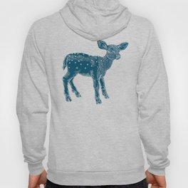 Dear Deer, Steel Blue Fawn Hoody
