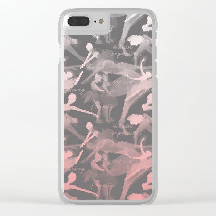 Ballet Class - Grey Clear iPhone Case