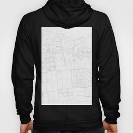 Abstract Map of UC Berkeley Campus Hoody