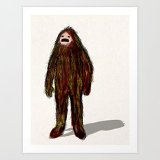 Forest Creature Art Print