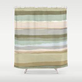Strips 1A Shower Curtain